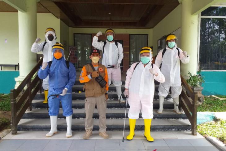 BPBD Sasar Tiga OPD Perhari Semprot Disinfektan